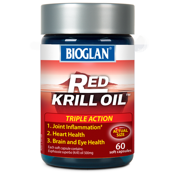 Red Krill Oil Triple Action 500mg 60s