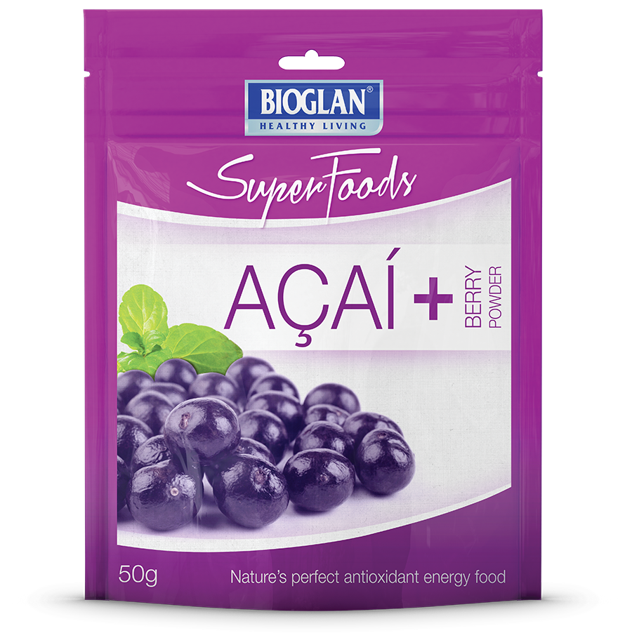 Acai powder offers high antioxidant value