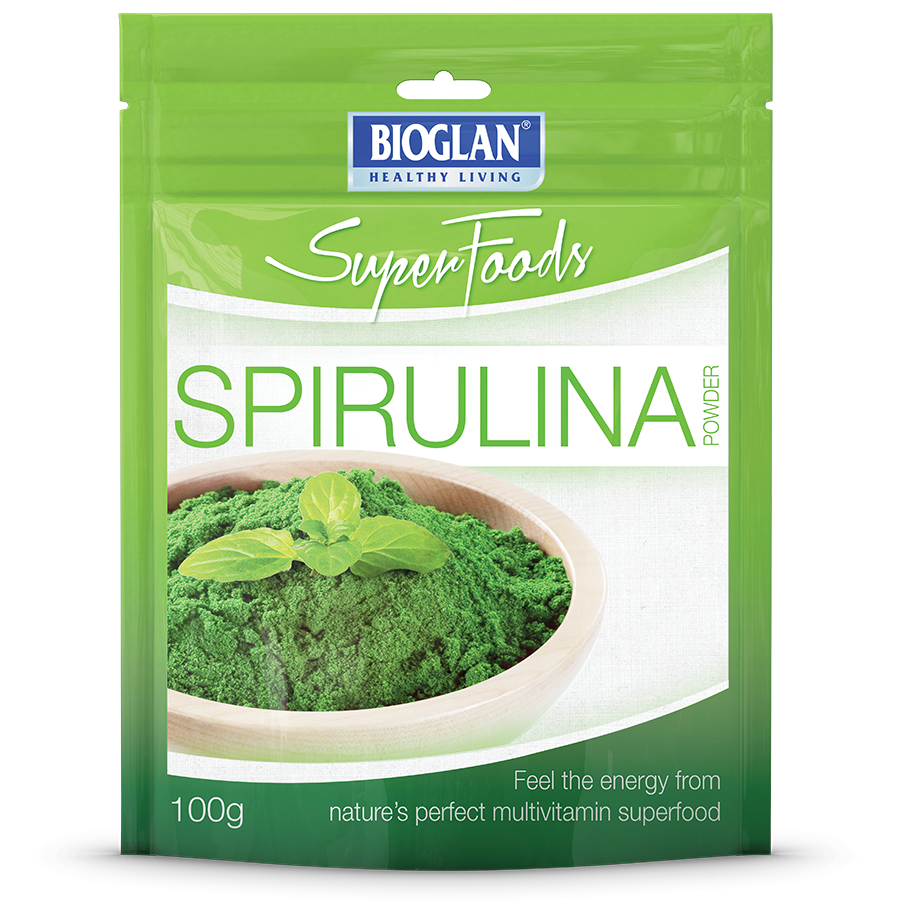 Spirulina superfoods by bioglan