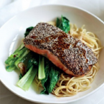 Chia-Crusted Salmon Recipe