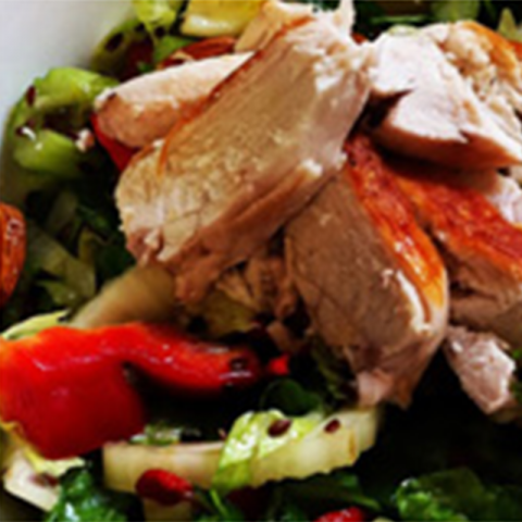 Grilled Chicken Salad with Chia