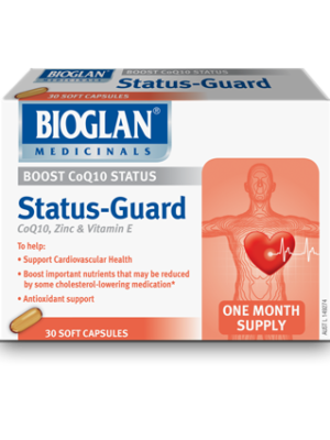 Bioglan Status Guard for cholesterl medication support