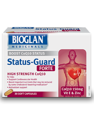 Bioglan Status Guard Forte for cholesterol medication support