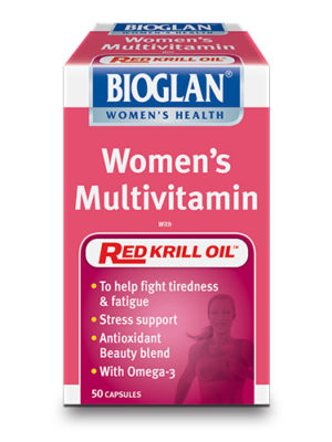 Bioglan Womens Multivitamin with Red Krill Oil