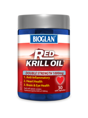 Red Krill Oil Double Strength 1000mg 30s