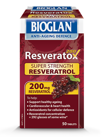 Bioglan Resveratox Resveratrol Supplement