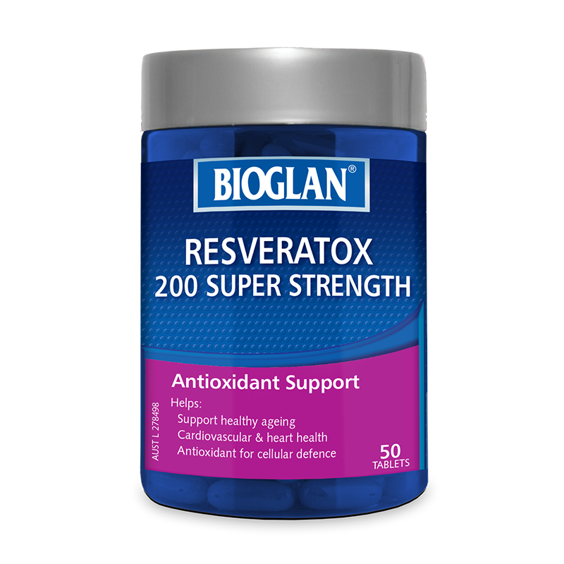 Bioglan Super Strength Resveratox 50s