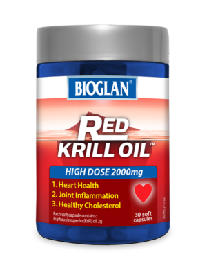 Red Krill Oil 2000mg 30s