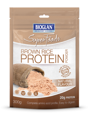 All Natural Brown Rice Protein by Bioglan Superfoods