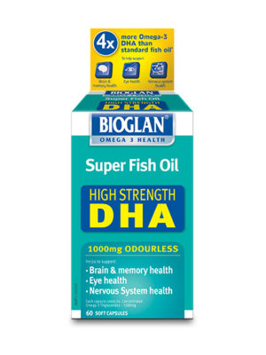 Bioglan Super Fish Oil High Strength DHA