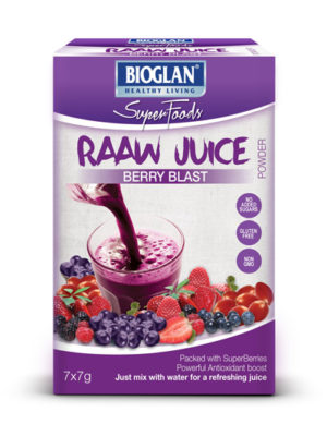 Bioglan Superfoods RAAW Juice Berry Blast