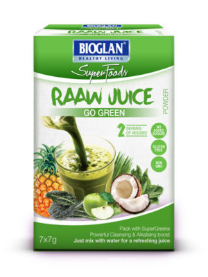 Bioglan Superfoods Go Green RAAW Juice powder
