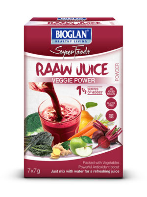 Bioglan Superfoods RAAW Juice Veggie Power