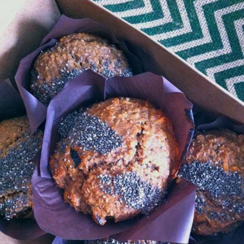 Super Fibre Boost Muffins