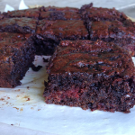 Chocolate Beetroot Brownie