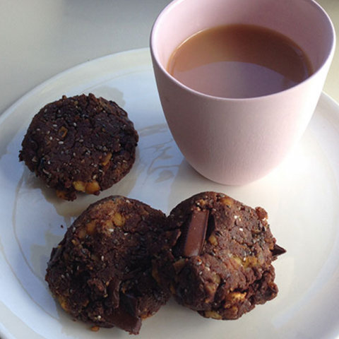 Cacao Choc Protein Cookies