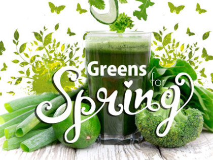 Top 5 Greens For Spring