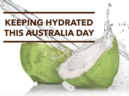 Keeping Hydrated this Australia Day