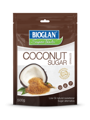 BIO_Superfoods_Coconut Sugar 500g Front