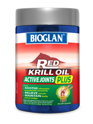 Red Krill Oil Active Joints Plus 90s