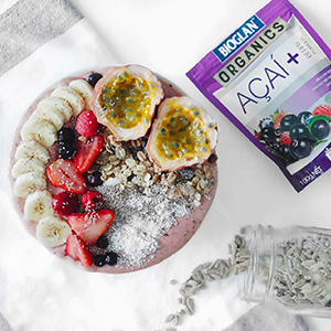 Superfoods Berry Smoothie Bowl