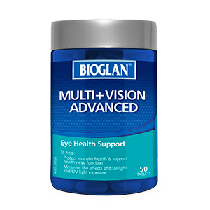 Bioglan Multi + Vision Advanced 50s