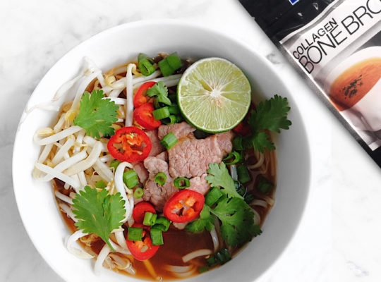 Pho Inspired Noodle Soup