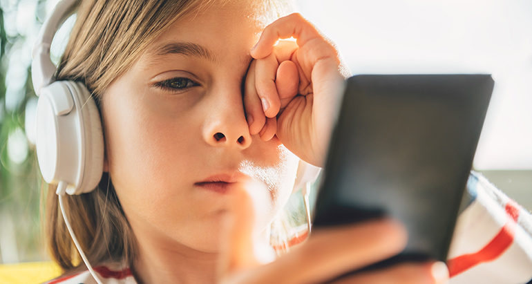 A simple approach to protecting children's eyes
